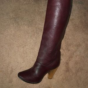Ox blood dolce and gabbana boots